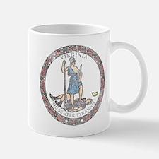 Virginia Vintage State Flag Mug