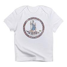 Virginia Vintage State Flag Infant T-Shirt