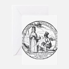 Virginia Seal Greeting Card