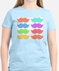 Rainbow Mustaches T-Shirt