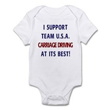 Support Team USA Infant Bodysuit