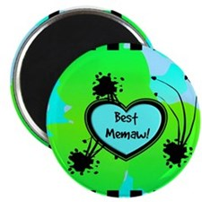 Best memaw blue Magnet