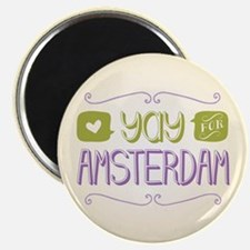 Yay For Amsterdam Magnet