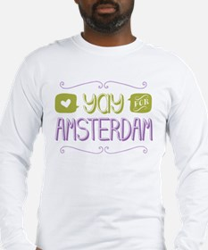 Yay For Amsterdam Long Sleeve T-Shirt