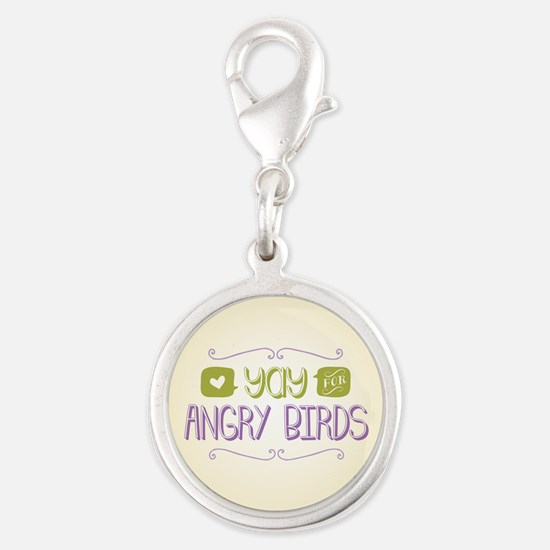 Yay for Angry Birds Charms