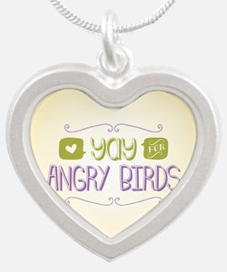 Yay for Angry Birds Necklaces