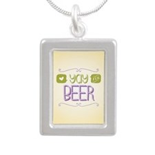 Yay for Beer Necklaces