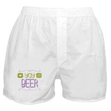 Yay for Beer Boxer Shorts