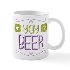 Yay for Beer Mug