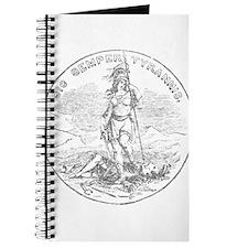 Vintage Virginia State Seal Journal