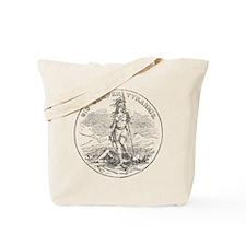 Vintage Virginia State Seal Tote Bag