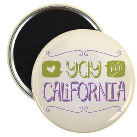 Yay for California Magnet