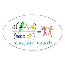 Kayak Math Decal