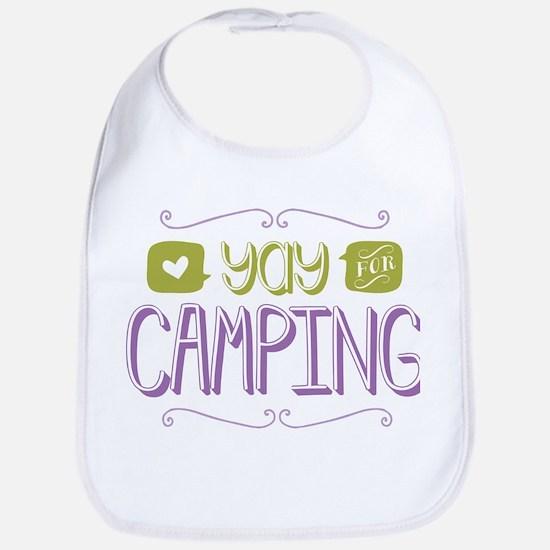 Yay for Camping Bib