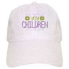 Yay for Children Baseball Cap