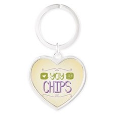 Yay for Chips Keychains