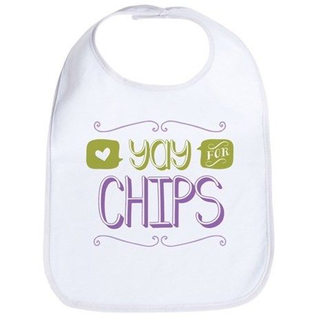 Yay for Chips Bib