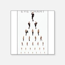 Eye Chart Sticker