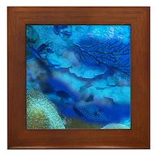 Seascape Framed Tile