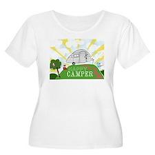 Happy Camper Plus Size T-Shirt