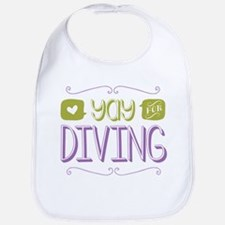 Yay for Diving Bib