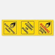Parental Warning Sticker s (Cuts Into 3)