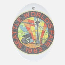 Seattle Worlds Fair Ornament (Oval)