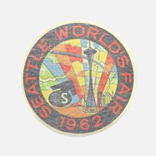"Seattle Worlds Fair 3.5"" Button"