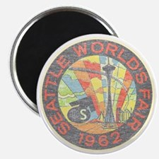 "Seattle Worlds Fair 2.25"" Magnet (100 pack)"