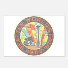 Seattle Worlds Fair Postcards (Package of 8)