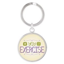 Yay for Exercise Keychains