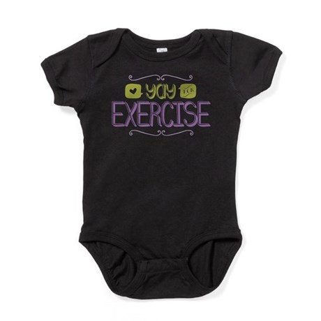 Yay for Exercise Baby Bodysuit