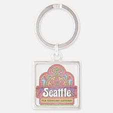 Vintage Seattle Keychains