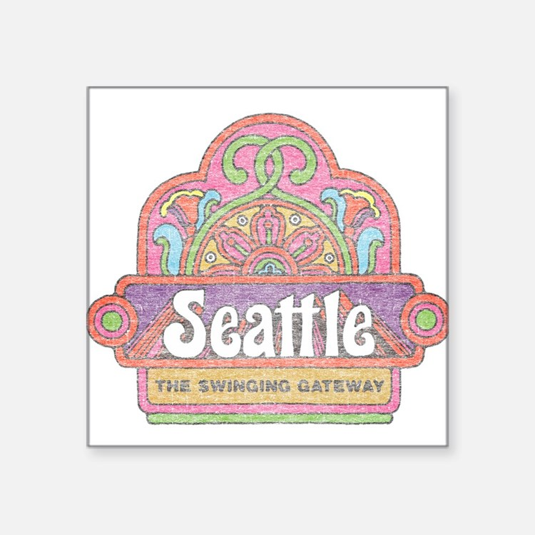 Vintage Seattle Sticker