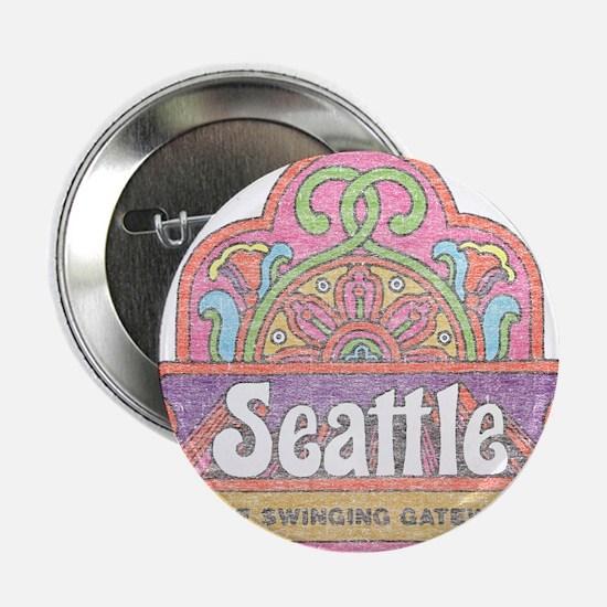 """Vintage Seattle 2.25"""" Button"""