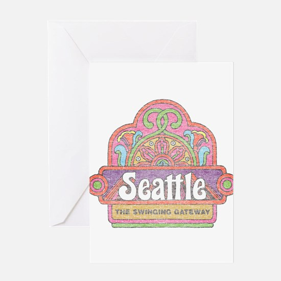 Vintage Seattle Greeting Card