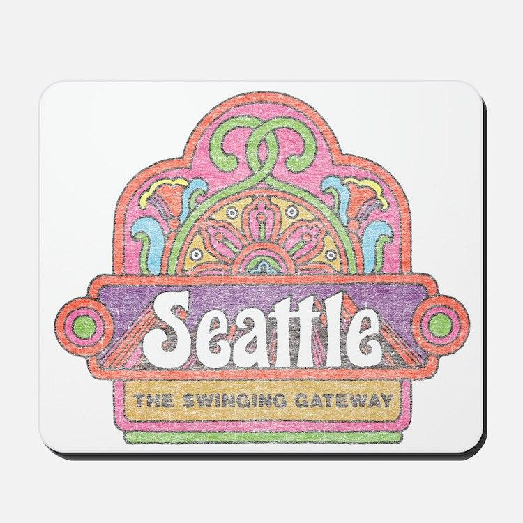 Vintage Seattle Mousepad