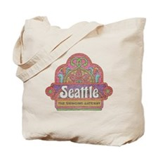 Vintage Seattle Tote Bag