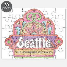 Vintage Seattle Puzzle