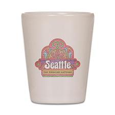 Vintage Seattle Shot Glass