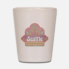 Vintage Seattle Shot Glass