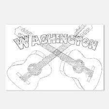 Washington Guitars Postcards (Package of 8)