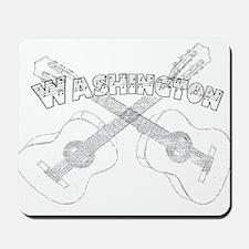 Washington Guitars Mousepad