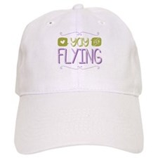 Yay for Flying Baseball Baseball Cap
