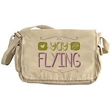 Yay for Flying Messenger Bag