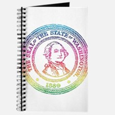 Vintage Washington Rainbow Journal