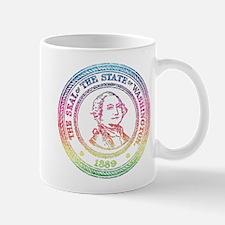 Vintage Washington Rainbow Mug