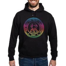 Vintage Washington Rainbow Hoodie