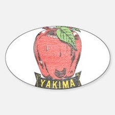 Vintage Yakima Apple Decal