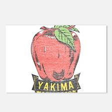 Vintage Yakima Apple Postcards (Package of 8)